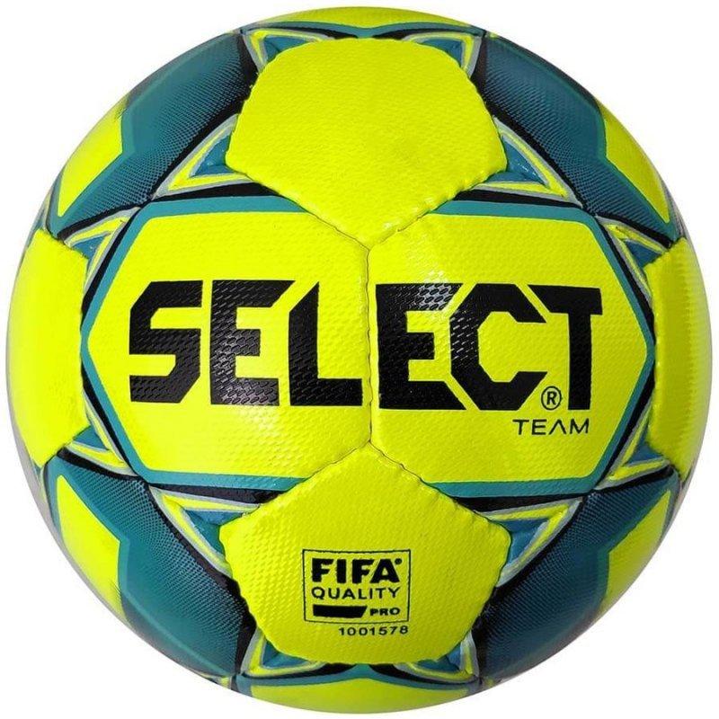 Piłka Select Team FIFA Pro 3675546552 żółty 5
