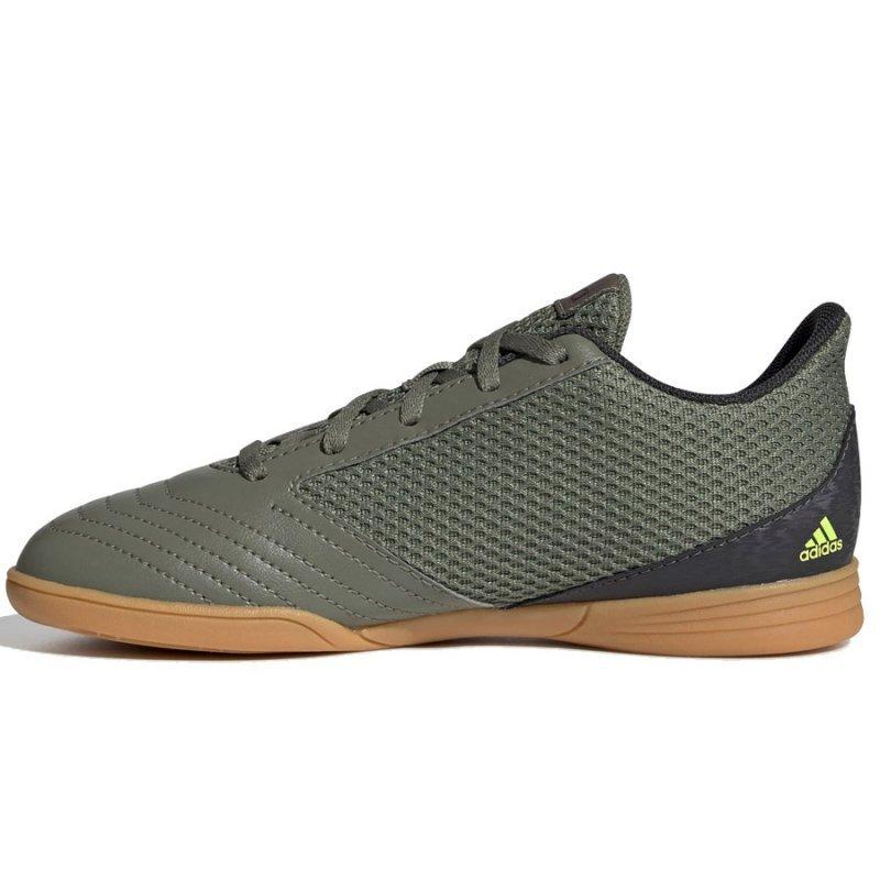 Buty adidas Predator 19.4 IN Sala J EF8224 zielony 38 2/3