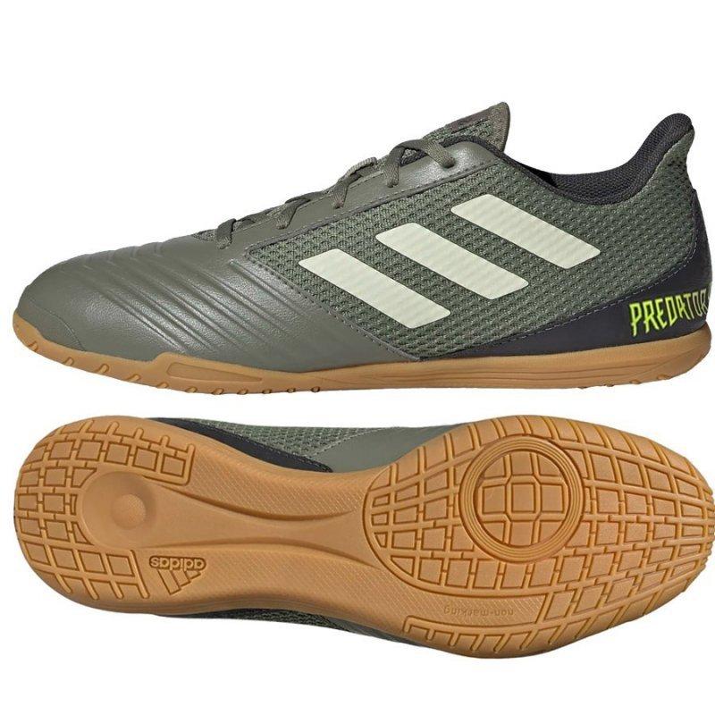 Buty adidas Predator 19.4 IN Sala EF8216 zielony 44