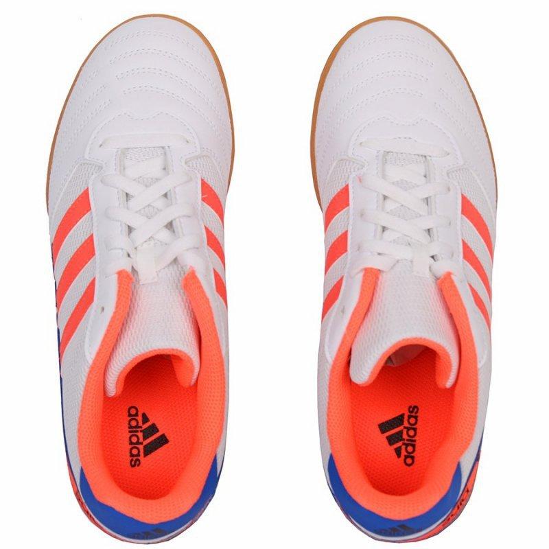 Buty adidas Super Sala J IN FV2633 biały 36 2/3