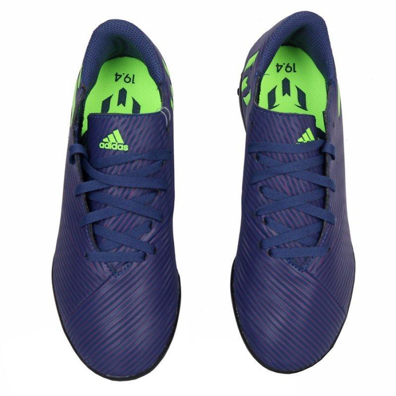 Buty adidas Nemeziz Messi 19.4 TF J EF1818 granatowy 38 2/3