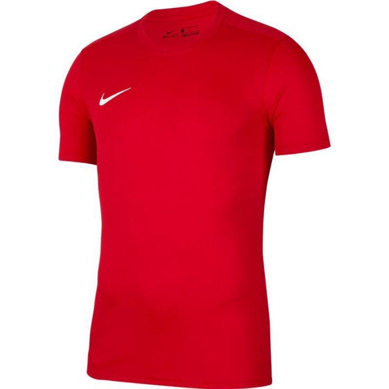 Koszulka Nike Park VII Boys BV6741 657 czerwony M (137-147cm)