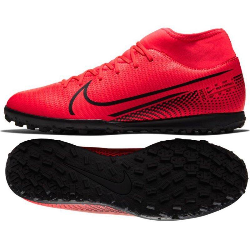 Buty Nike Mercurial Superfly 7 Club TF AT7980 606 czerwony 44