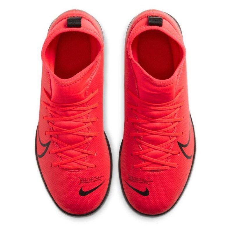 Buty Nike JR Mercurial Superfly 7 Club IC AT8153 606 czerwony 33