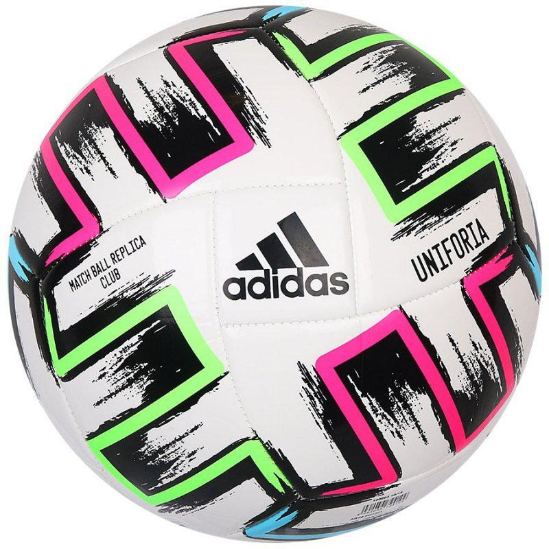 Piłka adidas Uniforia Ekstraklasa Club FH7321 biały 5