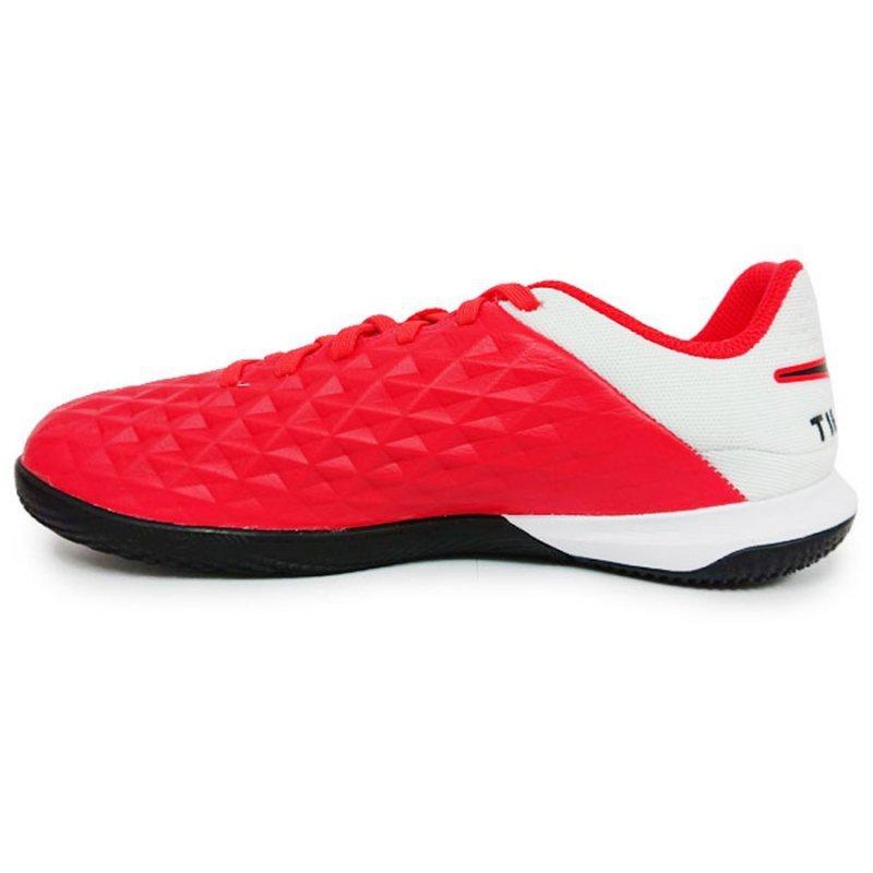 Buty Nike JR Tiempo Legend 8 Academy IC AT5735 606 czerwony 33