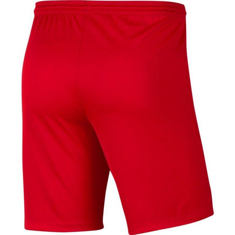 Spodenki Nike Y Park III Boys BV6865 657 czerwony M (137-147cm)