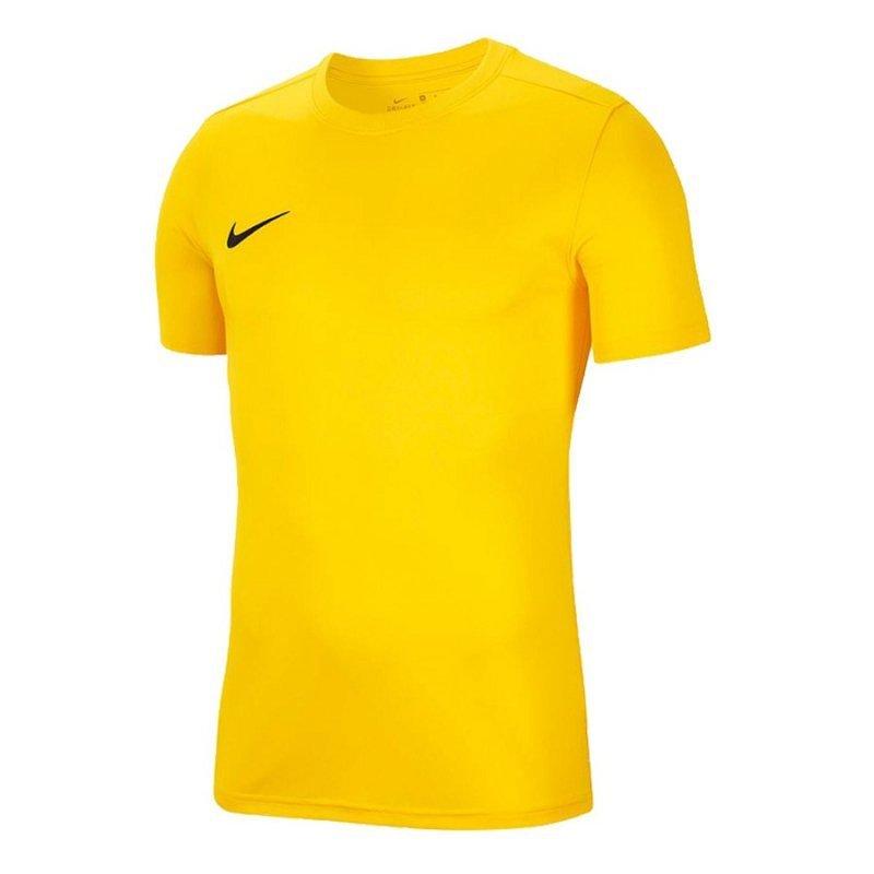 Koszulka Nike Park VII Boys BV6741 719 żółty M (137-147cm)