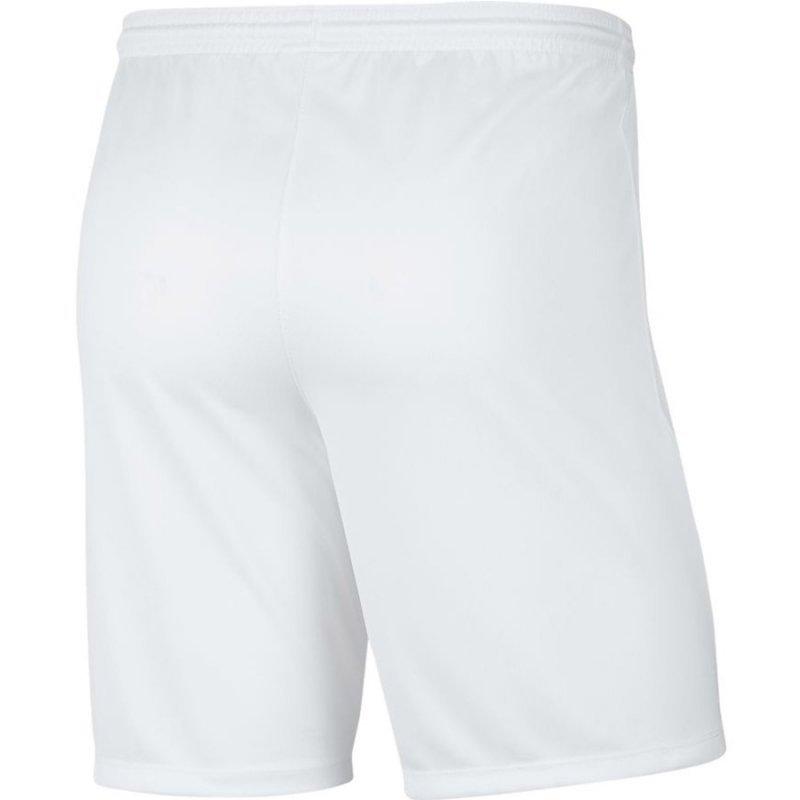Spodenki Nike Park III BV6855 100 biały L