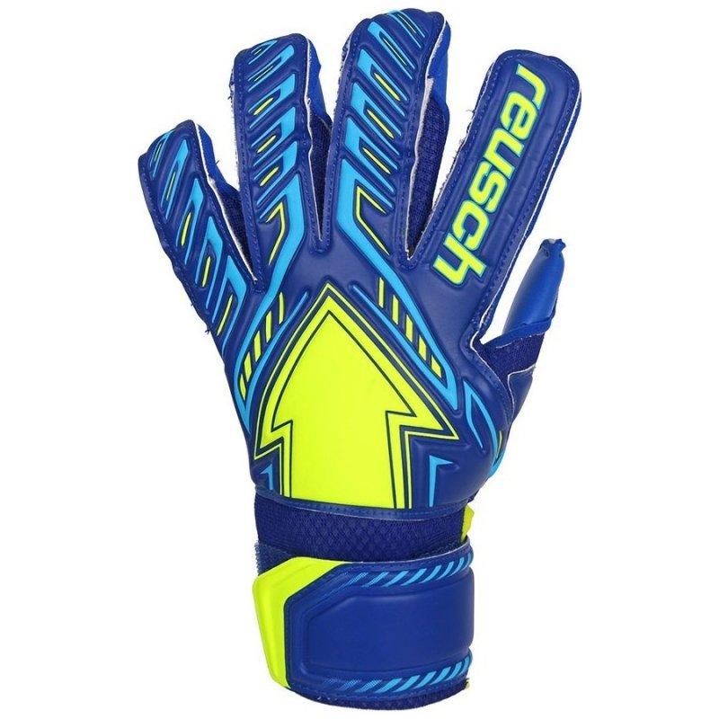 Rękawice bramkarskie Reusch Arrow S1 50 70 204 4949 niebieski 9,5
