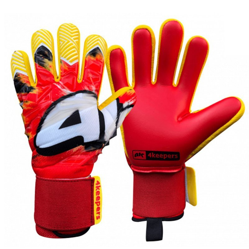 Rękawice 4keepers Evo Rojo NC czerwony 8,5