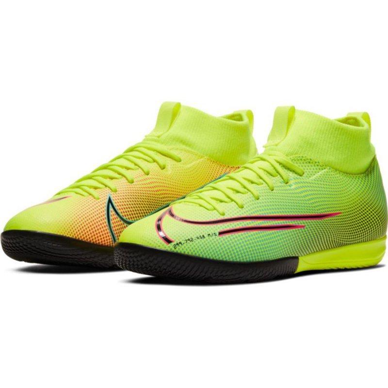 Buty Nike JR Mercurial Superfly Academy MDS IC BQ5529 703 żółty 32