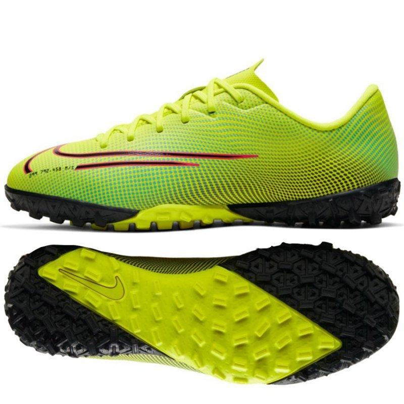 Buty Nike JR Mercurial Vapor 13 Academy MDS TF CJ1178 703 żółty 37 1/2