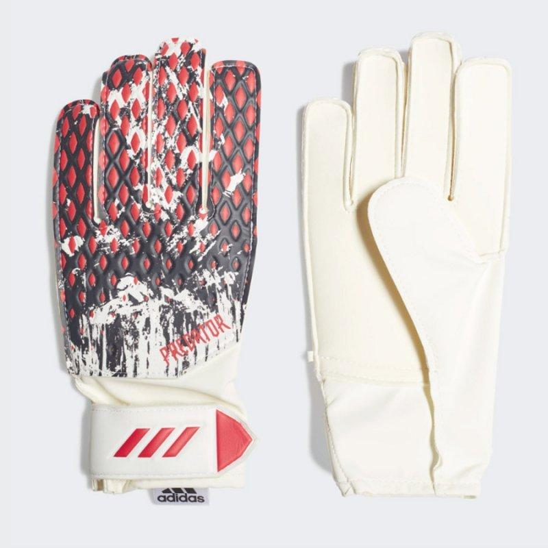 Rękawice adidas Predator GL TRN MNJ FR8372 biały 7