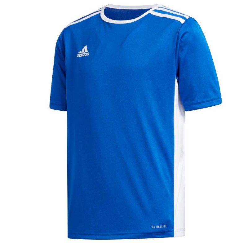 Koszulka adidas Entrada 18 JSY Y CF1049 niebieski 152 cm
