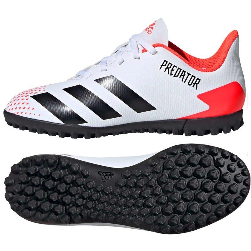 Buty adidas Predator 20.4 FxG J EG0933 biały 38 2/3