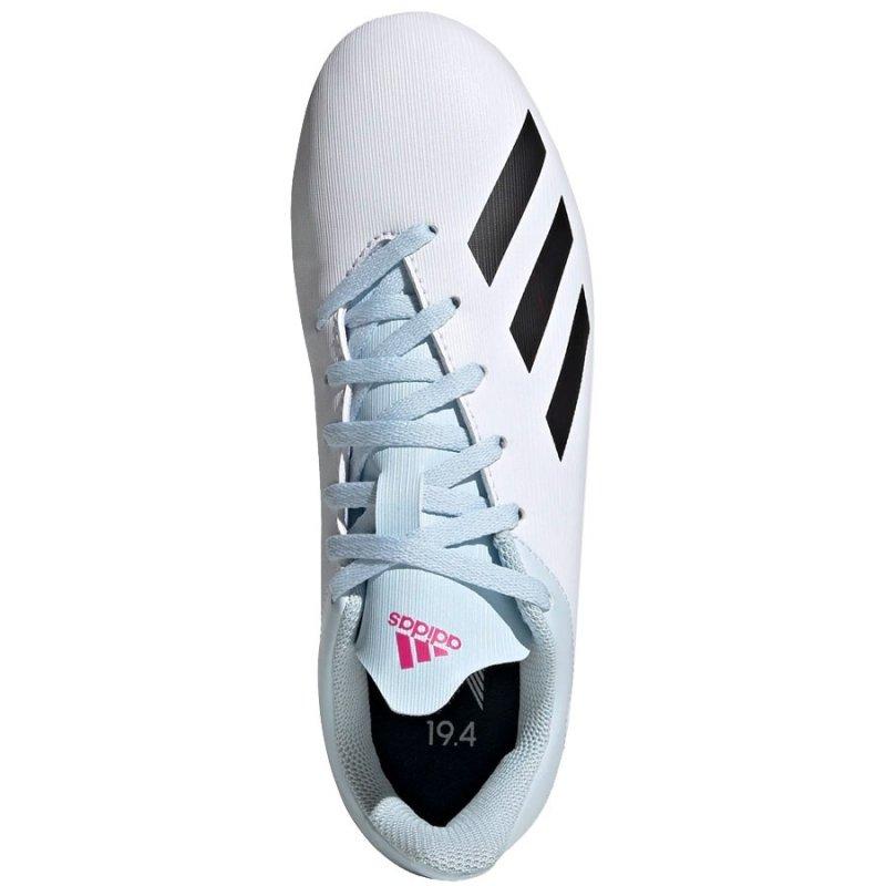 Buty adidas X 19.4 FxG J EF1616 biały 38 2/3