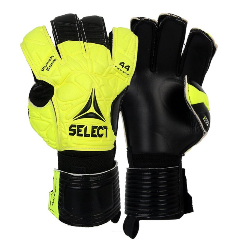 Rękawice bramkarskie Select 44 Flexi Save biały 7