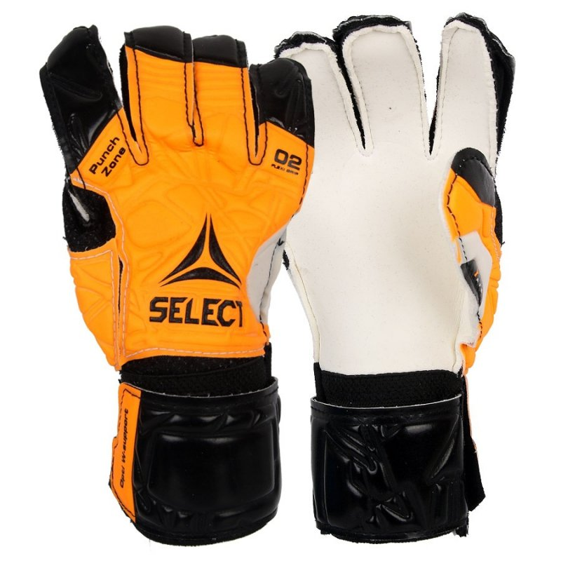 Rękawice bramkarskie Select 02 biały 6