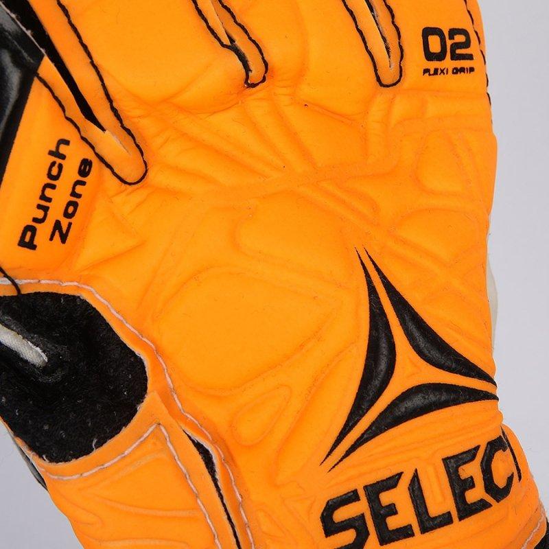 Rękawice bramkarskie Select 02 biały 9