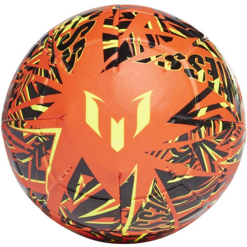Piłka adidas Messi Club GK3496 pomarańczowy 5