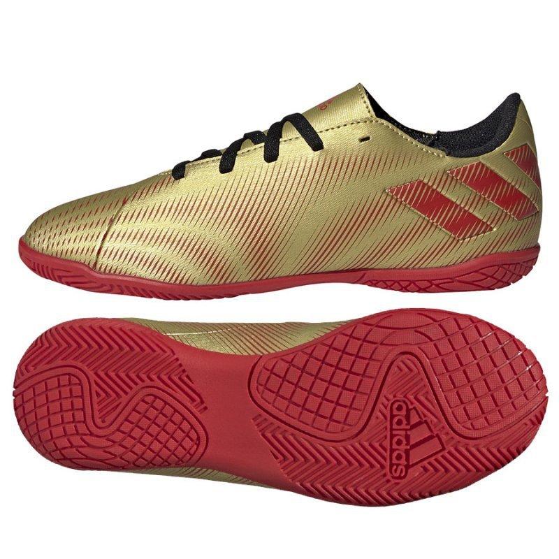 Buty adidas Nemeziz Messi .4 IN J FY0811 złoty 36 2/3