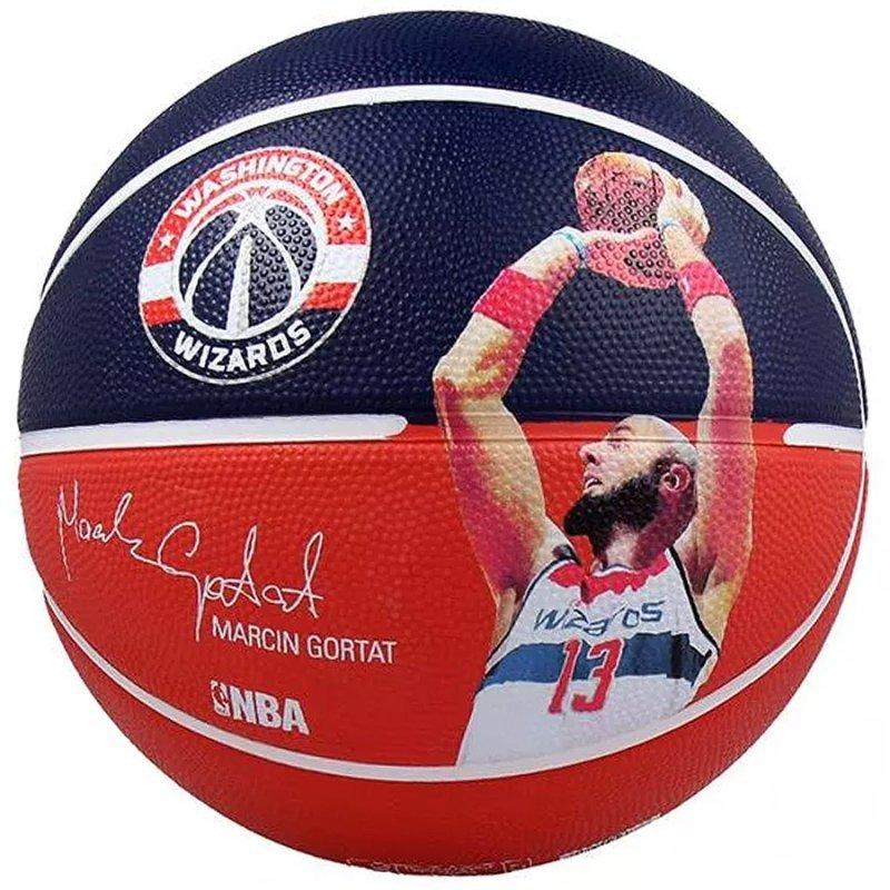 Piłka Spalding NBA Player Marcin Gortat 7 granatowy