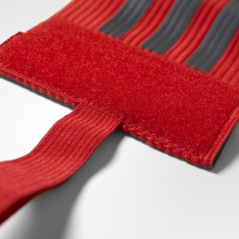 Opaska adidas FB CAPT ARMBAND CF1053 czerwony one size