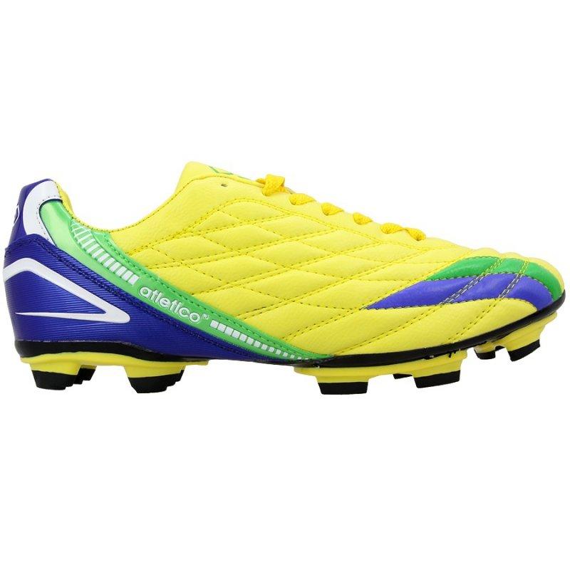 Buty Atletico FG żółty mix