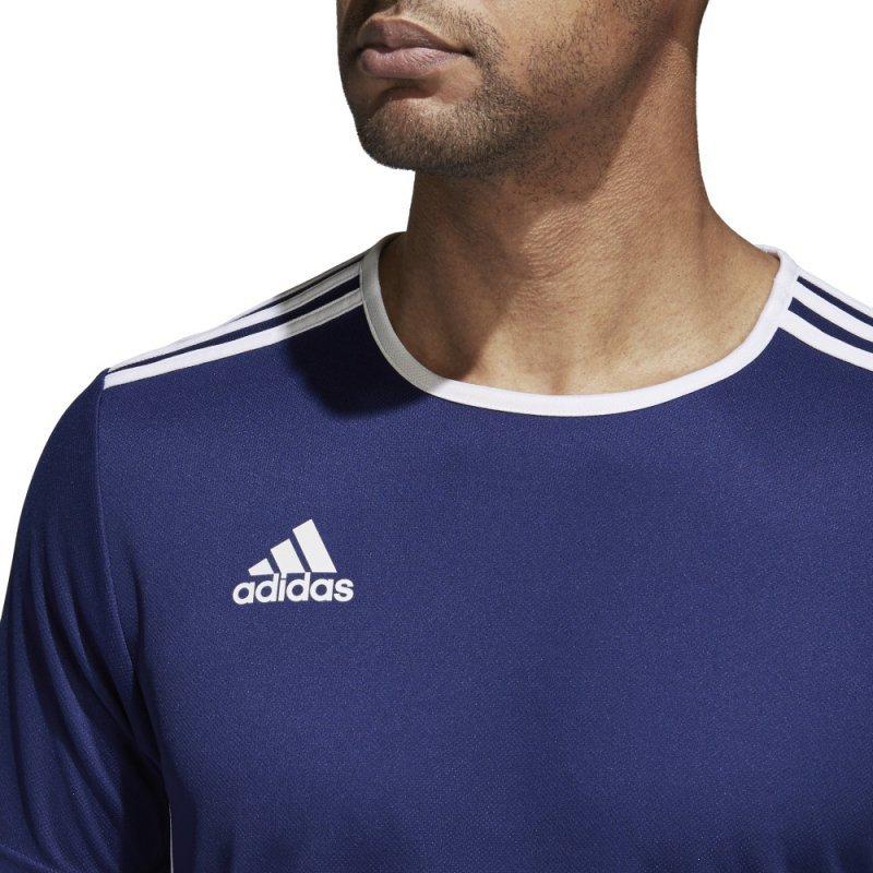 Koszulka adidas Entrada 18 JSY CF1036 granatowy 116 cm