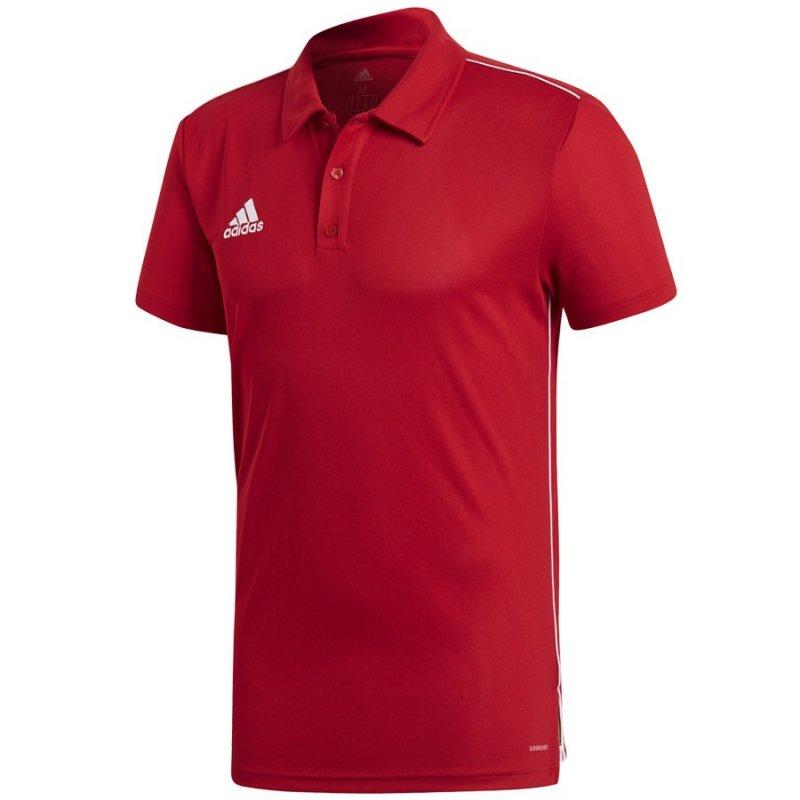 Koszulka adidas Polo Core 18 CV3591 czerwony XXL