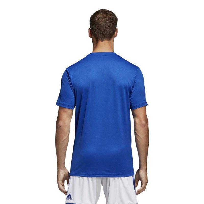 Koszulka adidas Core 18 Tee CV3451 niebieski S