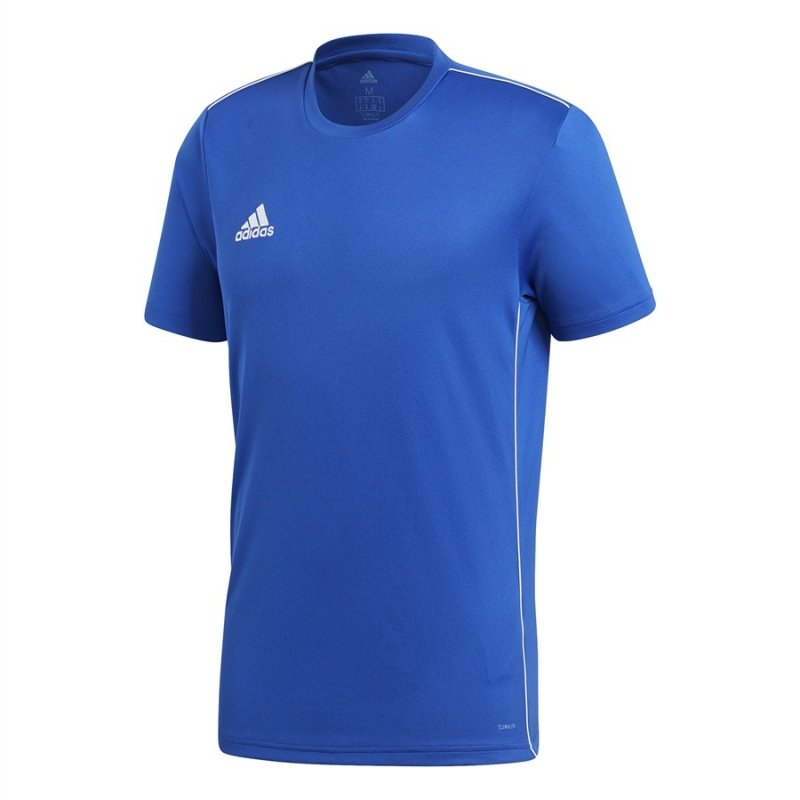 Koszulka adidas Core 18 Tee CV3451 niebieski XL