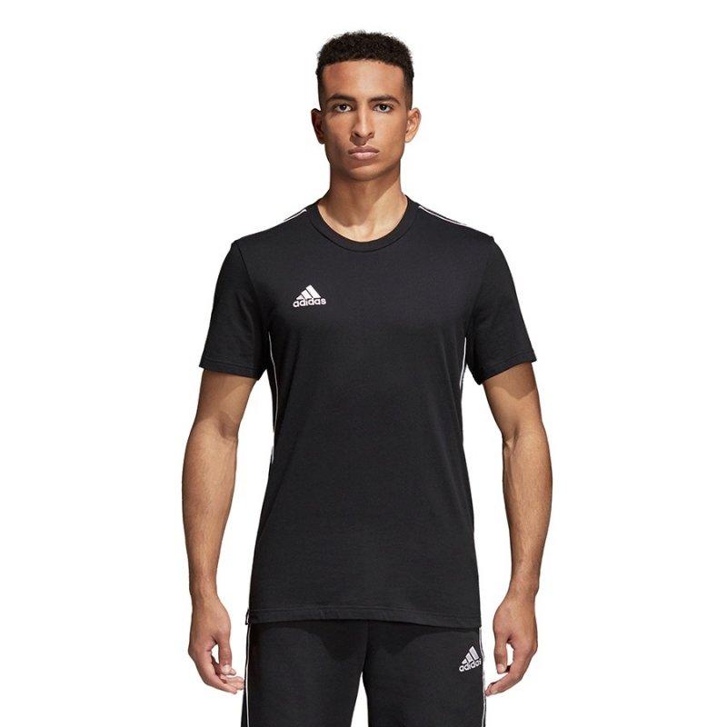 Koszulka adidas Core 18 Tee CE9063 czarny XXL