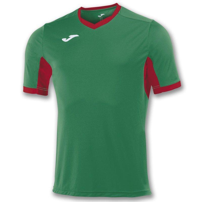 Koszulka Joma Champion IV 100683.456 zielony 164 cm