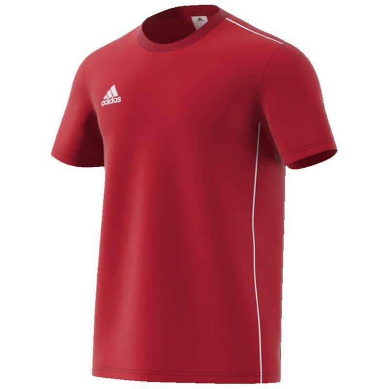 Koszulka adidas CORE 18 Tee CV3982 czerwony XS