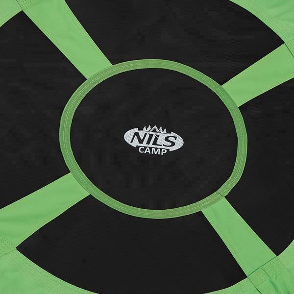 NB5031 GREEN ŚR.100 CM BOCIANIE GNIAZDO HUŚTAWKA NILS CAMP