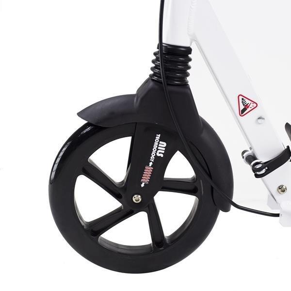 HA230T WHITE/BLACK PU 230/200MM HULAJNOGA NILS EXTREME