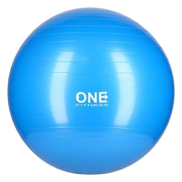 GB10 55CM BLUE GYM BALL 10 PIŁKA GIMNASTYCZNA ONE FITNESS