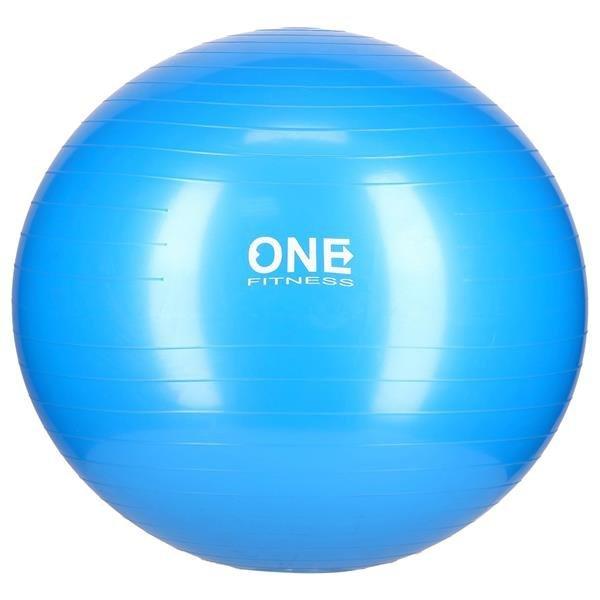 GB10 65CM BLUE GYM BALL 10 PIŁKA GIMNASTYCZNA ONE FITNESS