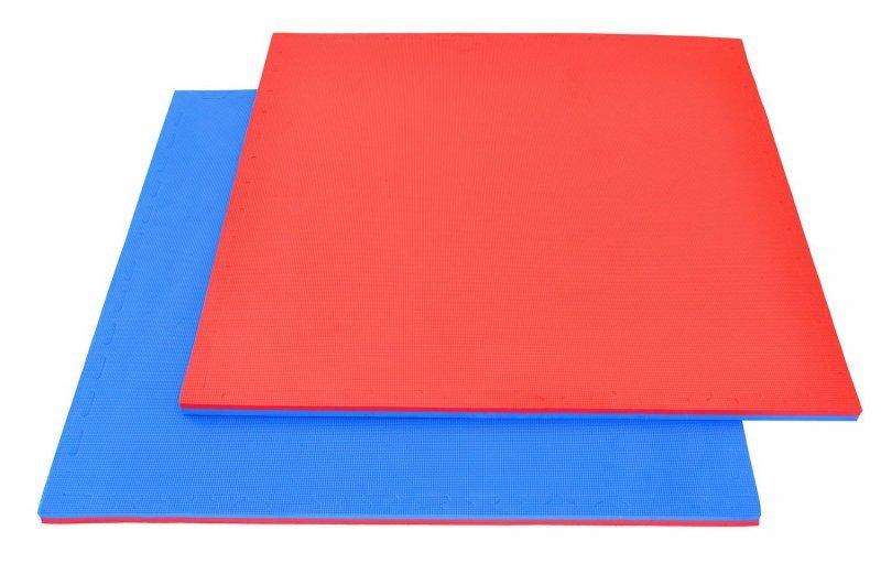 Mata treningowa do ćwiczeń - Puzzle 1x1m - Tatami 2 cm - Karate