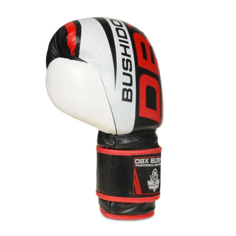 Rękawice Bokserskie Treningowe ze Skóry Naturalnej DBX BUSHIDO 14 oz