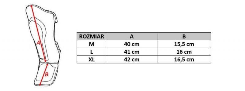 """Ochraniacze na Piszczele, Golenie i Stopy DBX BUSHIDO """"JAPAN""""  SP-10v3 XL"""