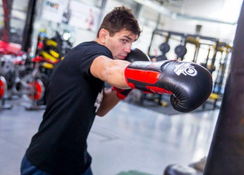Rękawice bokserskie sparingowe treningowe DBX PRO BUSHIDO 10 OZ