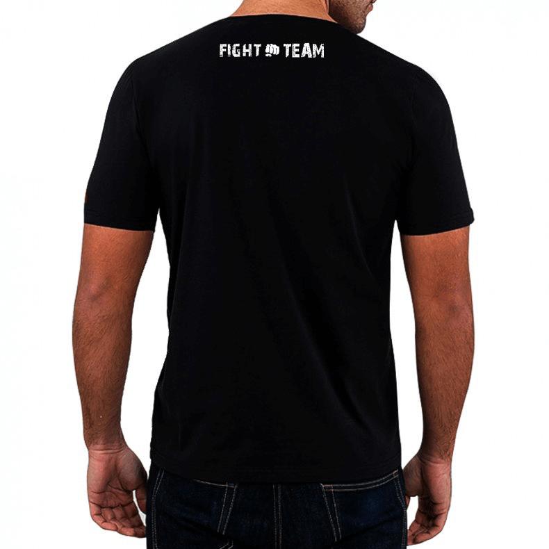T-Shirt KOSZULKA BAWEŁNIANA DBX BUSHIDO CLASSIC BRAND WHITE KT11 - S