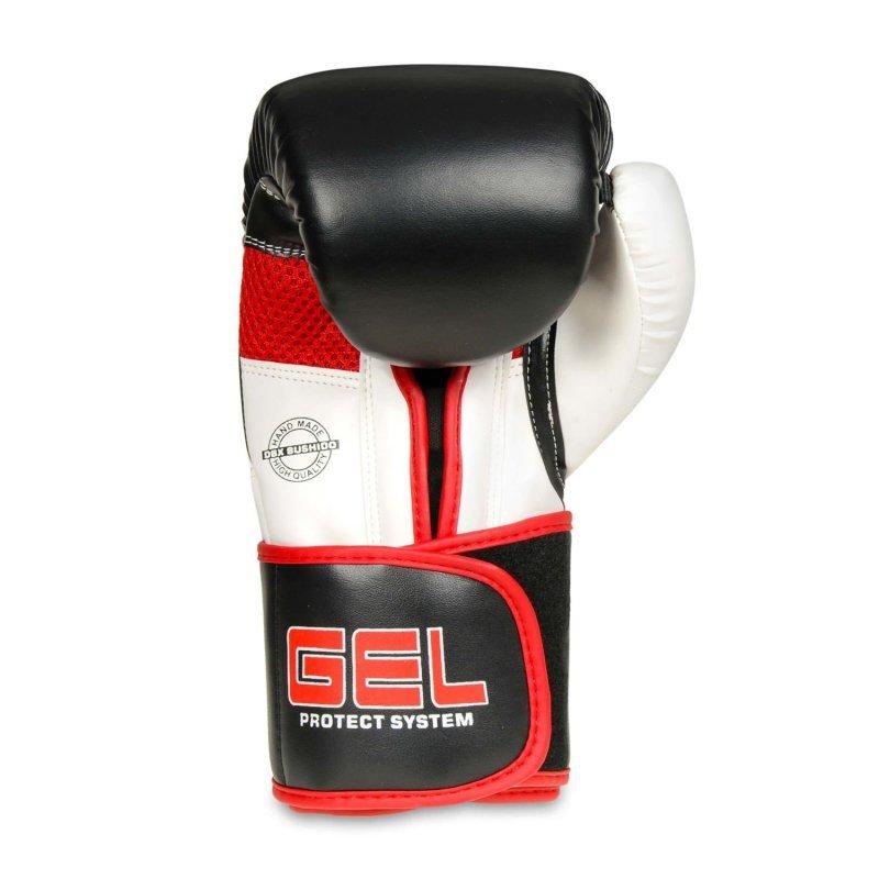 Rękawice bokserskie ze skóry naturalnej z techologią GEL  B-2v11 14oz