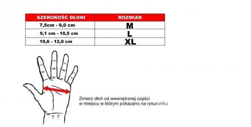 SKÓRZANE RĘKAWICE DO MMA -  BUSHIDO - E1V2 - M