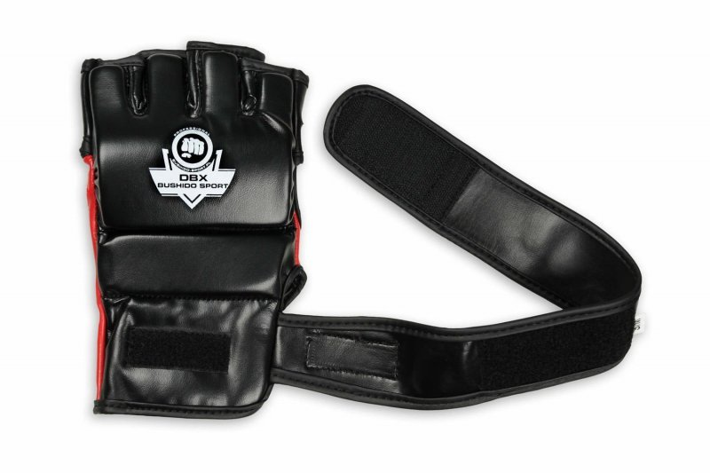 Profesjonalne Rękawice Do Treningu MMA i Ćwiczeń na Worku Bokserskim - DBX BUSHIDO E1v3