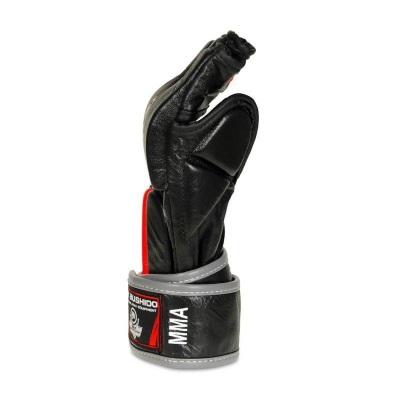 Rękawice Bushido do MMA ze Skóry Naturalnej  - e1v4-XL