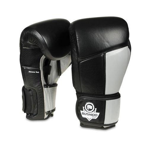 Rękawice treningowe Muay Thai sparingowe ze skóry naturalnej DBX BUSHIDO 12 oz
